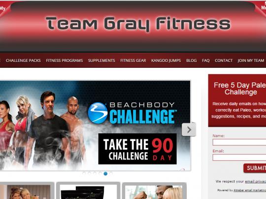 TEam gray fitness