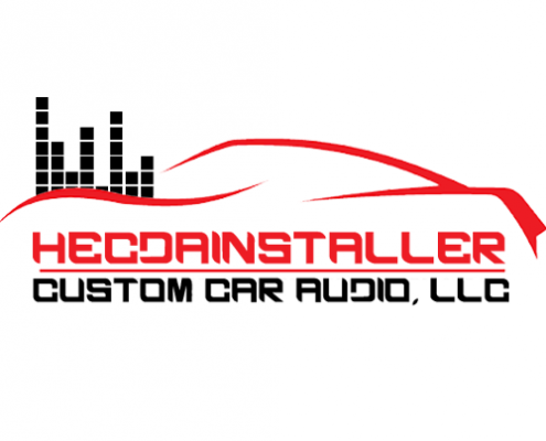 HECDAINSTALLER custom car design logo